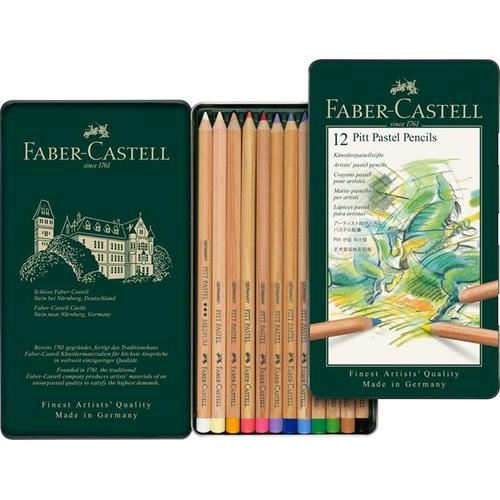 ファーバーカステル ピットパステル鉛筆 12色セット