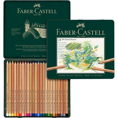 ファーバーカステル ピットパステル鉛筆 24色セット