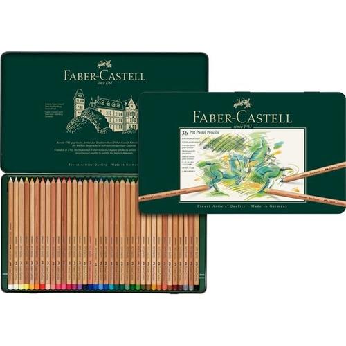 ファーバーカステル ピットパステル鉛筆 36色セット