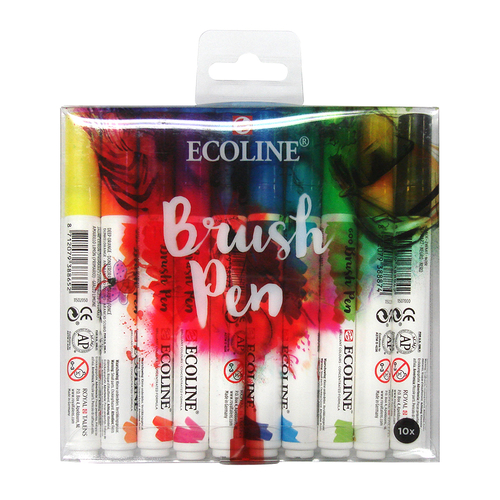 ターレンス エコラインブラッシュペン 10色セット
