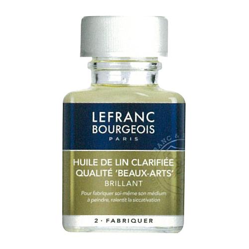 ルフラン 画用液 クラリファイド(脱色)リンシードオイル 75ml