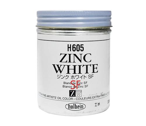 ホルベイン 油絵具330ml缶 ジンクホワイト(H605)