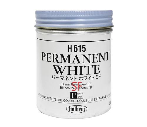 ホルベイン 油絵具330ml缶 パーマネントホワイトSF(H615)