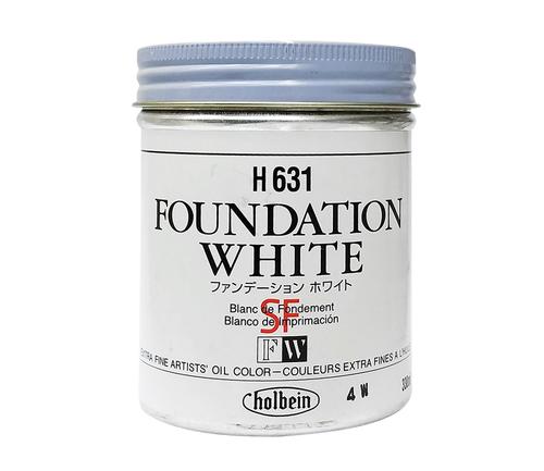ホルベイン 油絵具330ml缶 ファンデーションホワイト(H631)