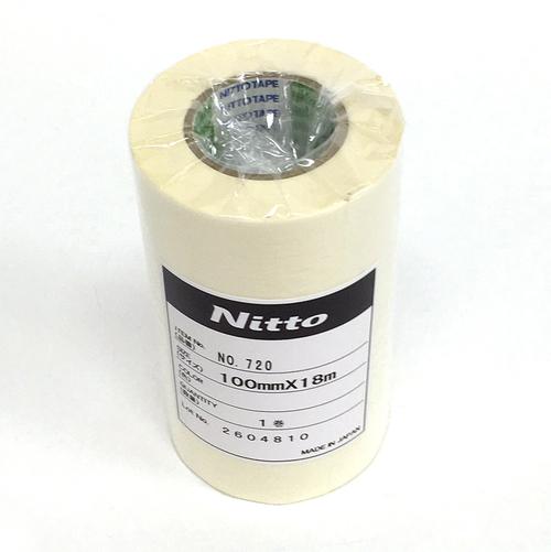 日東 マスキングテープ 100mmx18m巻
