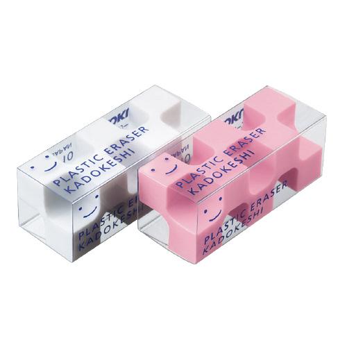 カドケシプチ 2個入(ピンク+ホワイト)  [ケシ-U750-2]