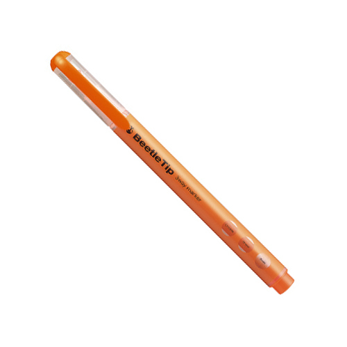 ビートルティップ(スリーウェイ蛍光マーカー) オレンジ  [PM-L301YR]