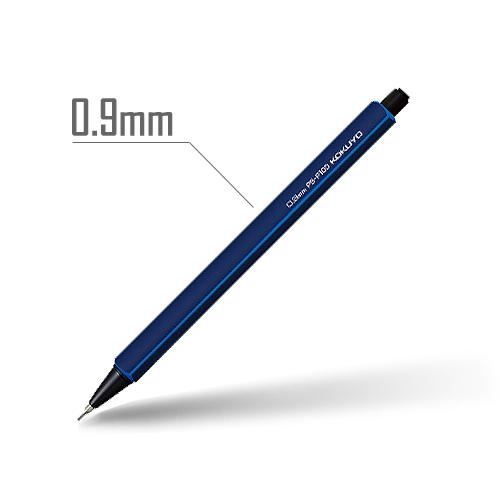 鉛筆シャープ(スタンダードカラー) 0.9mm 軸:ダークブルー [PS-P100DB-1P]