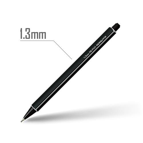 鉛筆シャープ(スタンダードカラー) 1.3mm 軸:黒 [PS-P101D-1P]