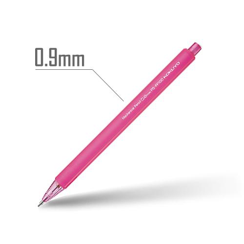 鉛筆シャープ(フローズンカラー) 0.9mm 軸:ピンク [PS-FP100P-1P]