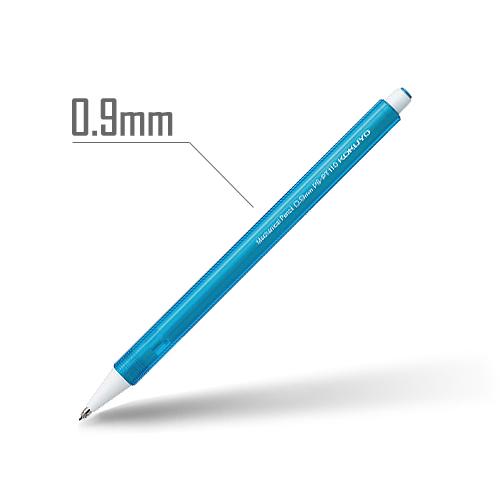 鉛筆シャープ(キャンディカラー) 0.9mm 軸:ライトブルー [PS-PT110LB-1P]