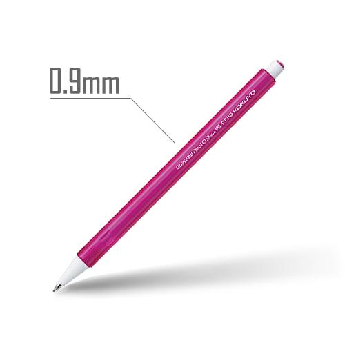 鉛筆シャープ(キャンディカラー) 0.9mm 軸:ピンク [PS-PT110P-1P]