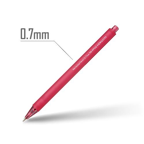 鉛筆シャープ(フローズンカラー) 0.7mm 軸:チェリーピンク [PS-FP102RP-1P]