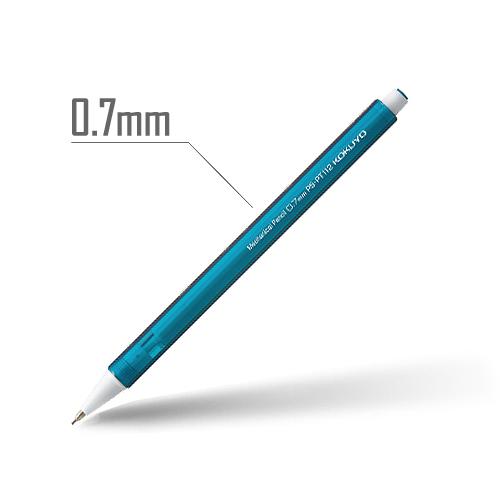 鉛筆シャープ(キャンディカラー) 0.7mm 軸:ブルーグリーン [PS-PT112BG-1P]