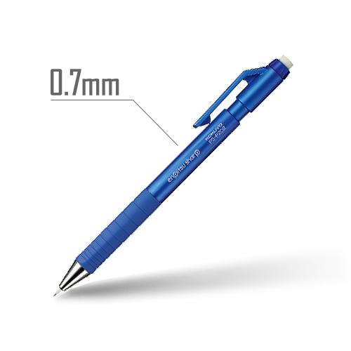 鉛筆シャープ(TypeS) 0.7mm 軸:青 [PS-P202B-1P]