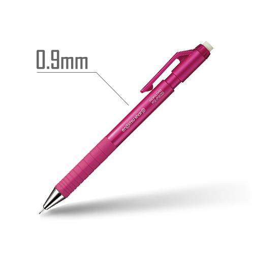 鉛筆シャープ(TypeS) 0.9mm 軸:ピンク [PS-P200P-1P]