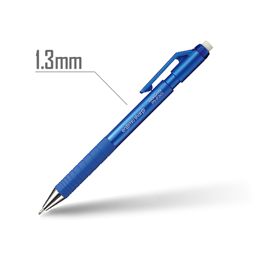 鉛筆シャープ(TypeS) 1.3mm 軸:青 [PS-P201B-1P]