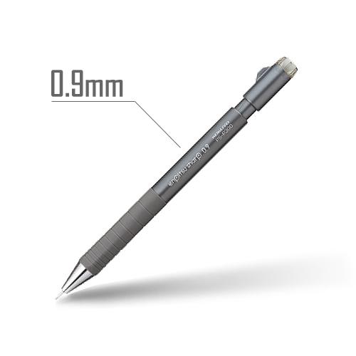 鉛筆シャープ(TypeS・スピードイン) 0.9mm 軸:ダークグレー [PS-P300DM-1P]