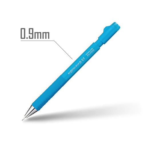 鉛筆シャープ(TypeS・スピードイン) 0.9mm 軸:ライトブルー [PS-P300LB-1P]