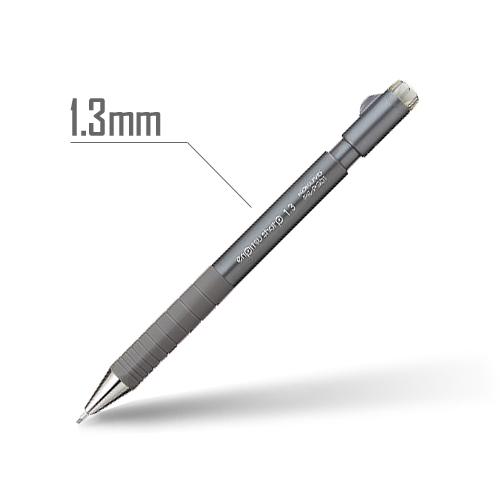 鉛筆シャープ(TypeS・スピードイン) 1.3mm 軸:ダークグレー [PS-P301DM-1P]