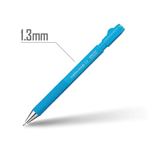 鉛筆シャープ(TypeS・スピードイン) 1.3mm 軸:ライトブルー [PS-P301LB-1P]