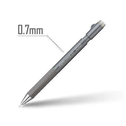 鉛筆シャープ(TypeS・スピードイン) 0.7mm 軸:ダークグレー [PS-P302DM-1P]
