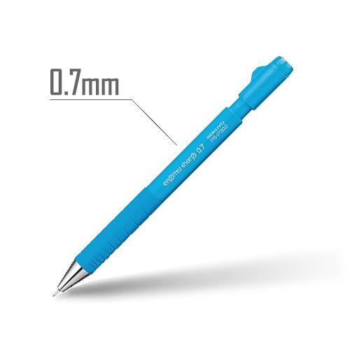 鉛筆シャープ(TypeS・スピードイン) 0.7mm 軸:ライトブルー [PS-P302LB-1P]