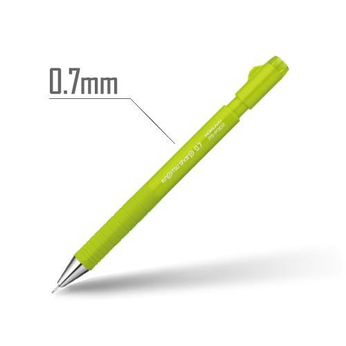 鉛筆シャープ(TypeS・スピードイン) 0.7mm 軸:黄緑 [PS-P302YG-1P]