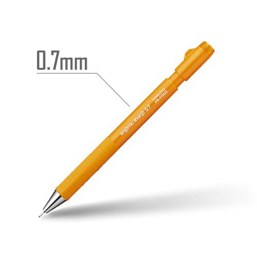 鉛筆シャープ(TypeS・スピードイン) 0.7mm 軸:オレンジ [PS-P302YR-1P]