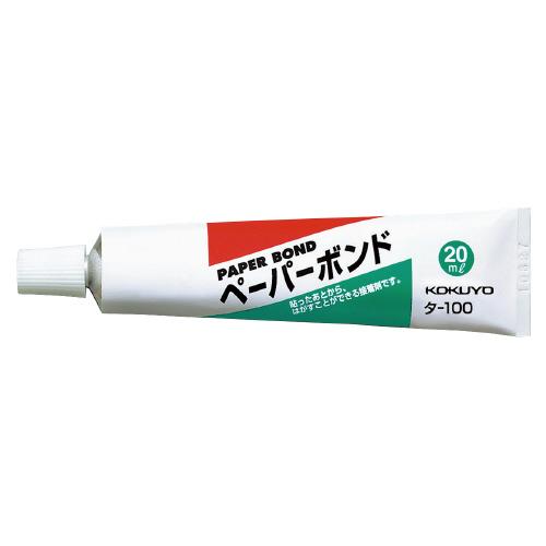 コクヨ ペーパーボンド 20mlチューブ  [タ-100]