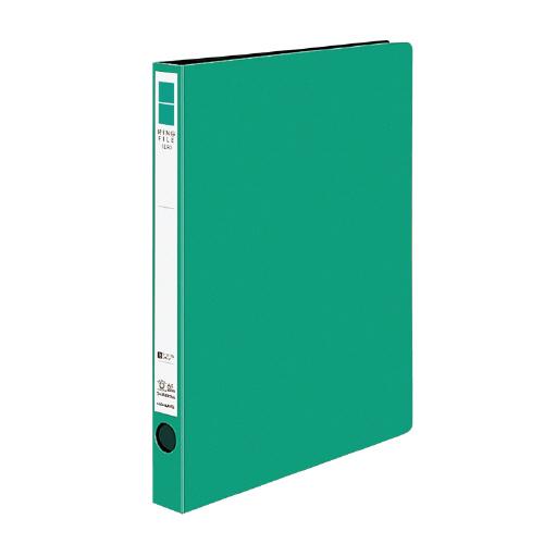リングファイル<ER> A4 内径22mm 緑[フ-UR420NG]