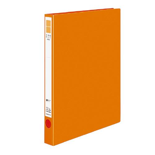 リングファイル<ER> A4 内径22mm オレンジ[フ-UR420NYR]