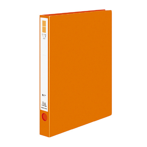 リングファイル<ER> A4 内径30mm オレンジ[フ-UR430NYR]
