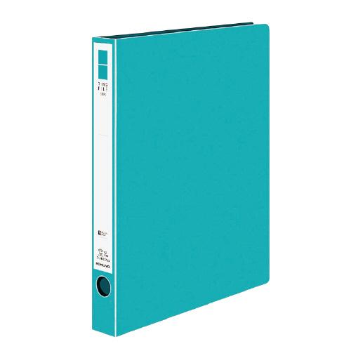 リングファイル<ER> A4 内径30mm 青緑[フ-UR430NBG]