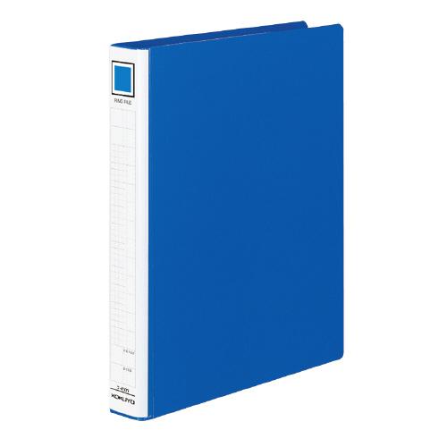 リングファイル(PPフィルム貼り) A4 背巾45mm 青[フ-430NB]
