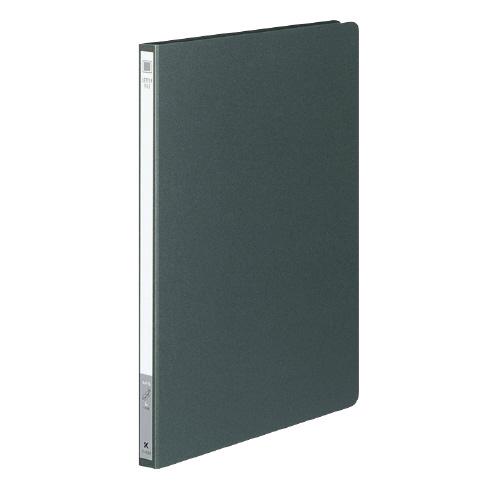 レターファイル(色厚紙紙) A4 ダークグレー [フ-550DM]