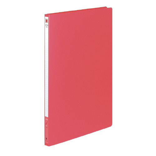 レターファイル(PP表紙) A4 赤 [フ-520R]