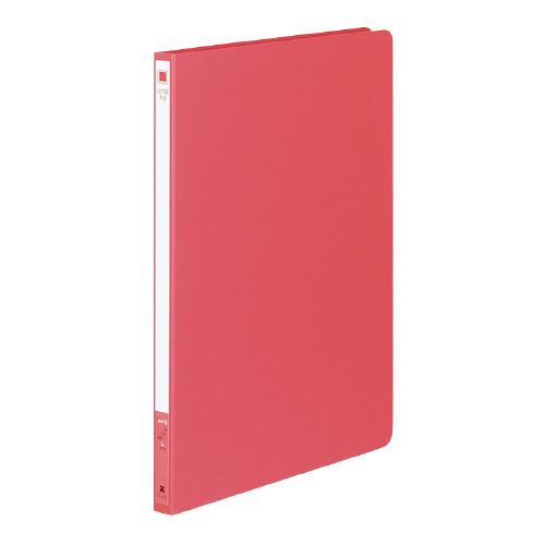 レターファイル(色厚紙紙) A4 赤 [フ-550R]