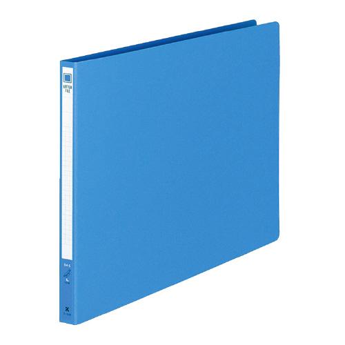 レターファイル(色厚紙紙) B4ヨコ 青 [フ-559B]