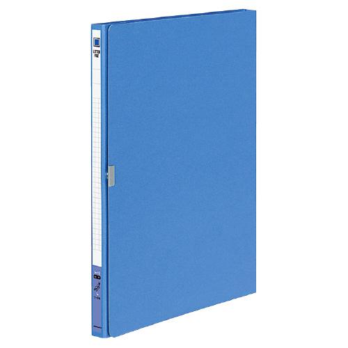 レターファイル(二折) A4 青 [フ-570B]