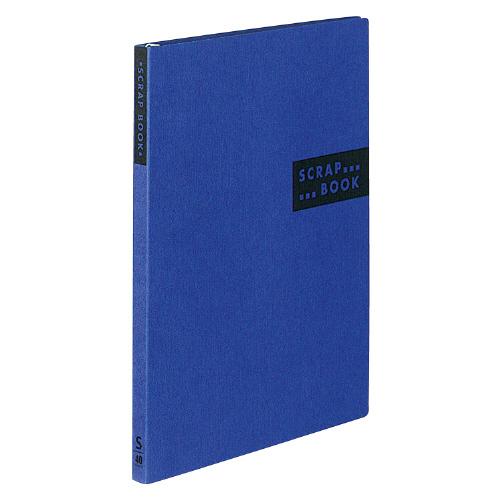 スクラップブックS(スパイラルとじ) A4 青 [ラ-410B]