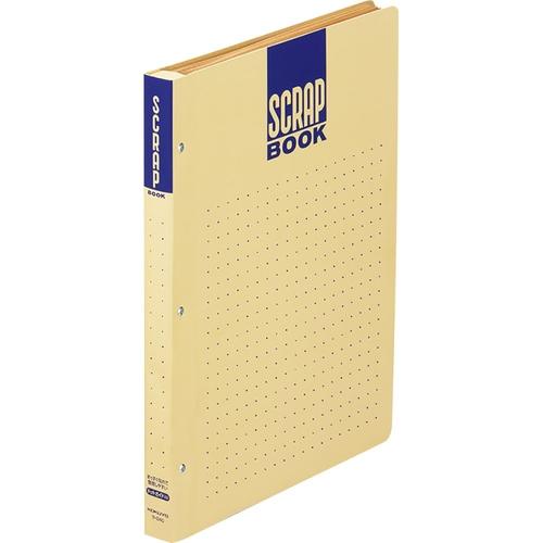 スクラップブックD(とじ込み式・ドット入) A4  [ラ-D40]
