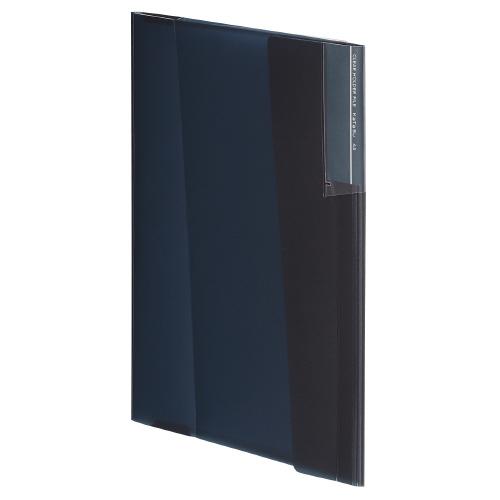 クリヤーホルダーファイル<カタス> A4 ブラック [フ-KC5720D]
