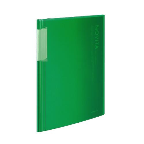 クリヤーブック<ノビータ> A4 20P 緑 [ラ-N20G]