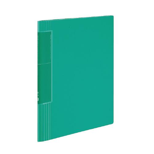 クリヤーブック<ノビータ>(ウェーブカットポケット) A4 40P 緑 [ラ-TN570G]