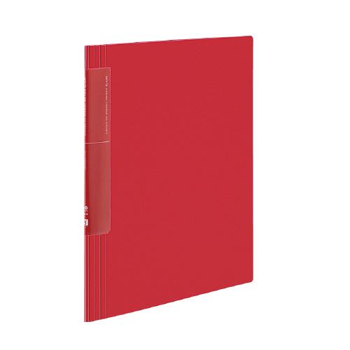 クリヤーブック<ノビータ>(ウェーブカットポケット) A4 20P 赤 [ラ-TN560R]