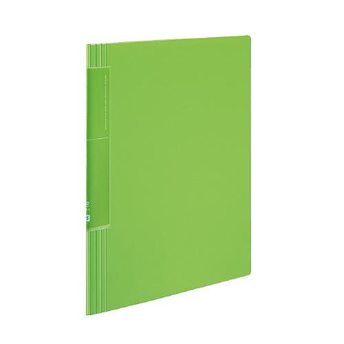 クリヤーブック<ノビータ>(ウェーブカットポケット) A4 20P ライトグリーン [ラ-TN560LG]