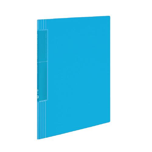 クリヤーブック<ノビータ>(ウェーブカットポケット) A4 20P ライトブルー [ラ-TN560LB]
