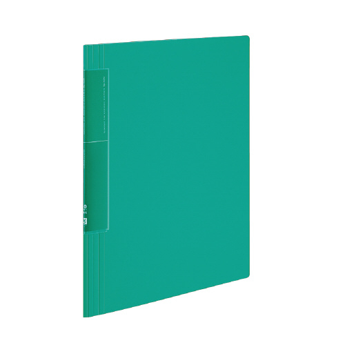 クリヤーブック<ノビータ>(ウェーブカットポケット) A4 20P 緑 [ラ-TN560G]