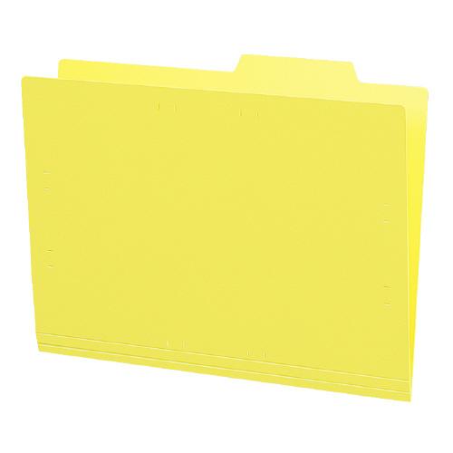 個別フォルダーA4(カラー・PP製) 黄 5冊パック [A4-IFH-Y]
